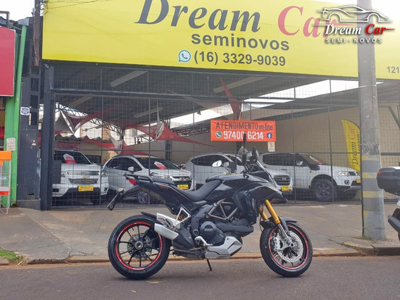 Ducati Multistrada S Touring 1200 Preto 2011