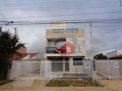 Imagem 1 de 14 de Sobrado Terraço 03 Dormitórios Suite E Closet Xaxim - Cwb