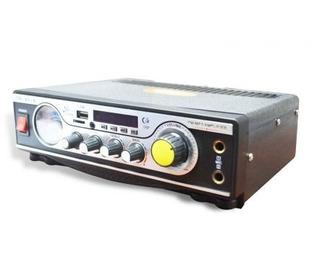 Amplificador Audio Estéreo 2 Canales Usb Sdmp3 250w
