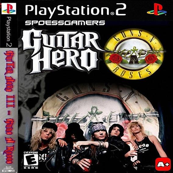 Guitar Hero 3 Guns And Roses Ps2 Desbloqueado Patch
