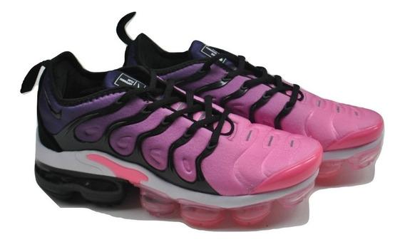 Kp3 Zapatos Damas Nike Vapormax Ultra Plus Violeta Rosa