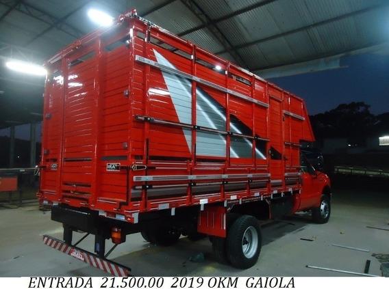 F4000 4x4 2019 Okm Com Gaiola Boiadeiro Entrada 27.000.00 +