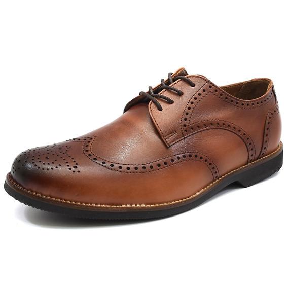Sapato Social Tamanho Especial Tradicional Inglês Florão 682