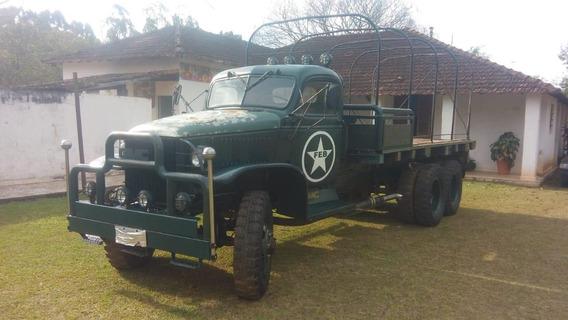 Caminhão Militar Feb Gmc