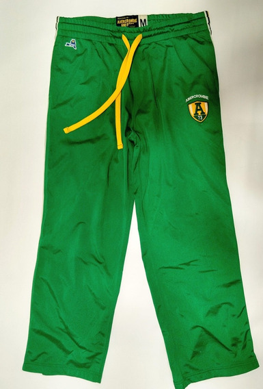 Pantalon Abercrombie And Fitch Verde Talle M