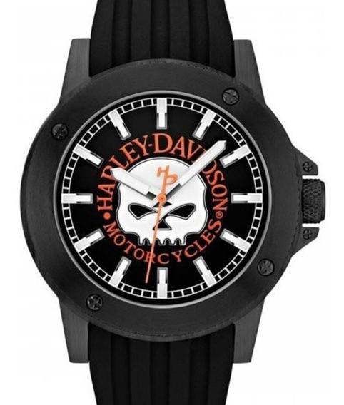 Relógio Bulova Masculino Harley Davidson - Wh30466p