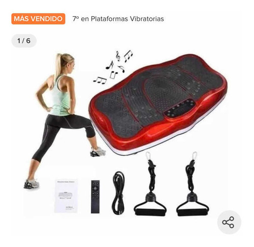 Plataforma Vibradora Tabla Power Fit Bluetooth + Control+ob