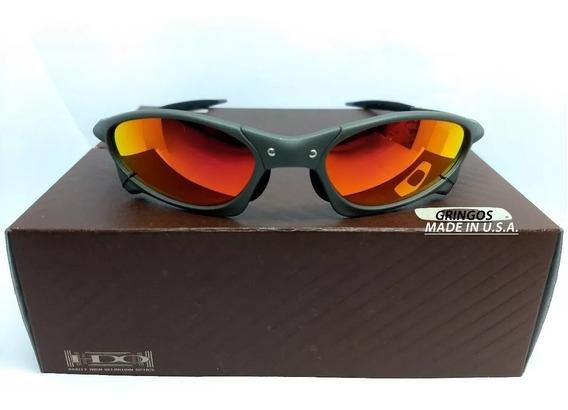 Oculos Penny Ruby Rubi Juliet Vermelha Double X Metal Uv400