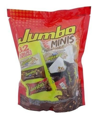 Jumbo Minis Chocolatinas Surtidas 32 Unidades/18 G
