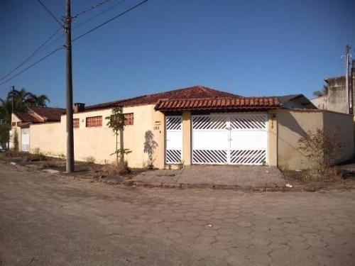 (ref: 5531) Casa Com Edicula  - Itanhaém/sp - Gaivota