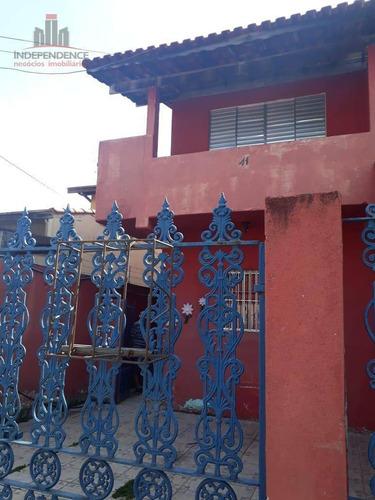 Sobrado Residencial À Venda, Jardim Torrão De Ouro, São José Dos Campos. - So0323