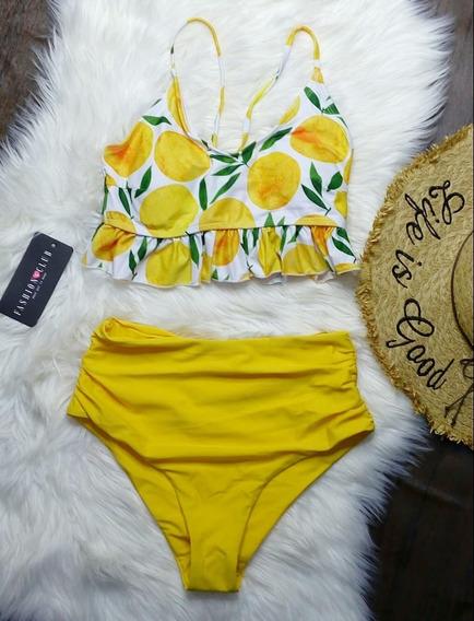 Conjunto Bikini Con Estampado