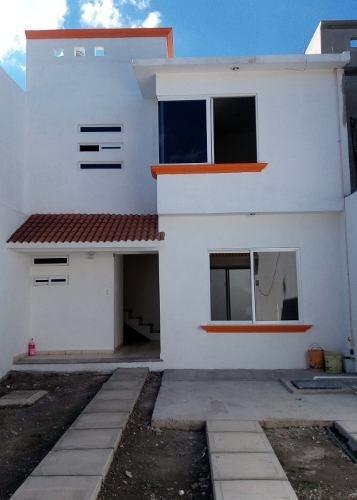 Venta Casa Nueva En Dos Plantas, Escriturada Cuautla Mor.