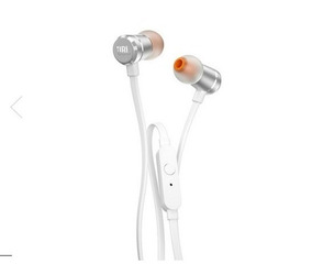 Fone Jbl T290 In Ear Microfone Harman Prata Ou Rose (cgd)