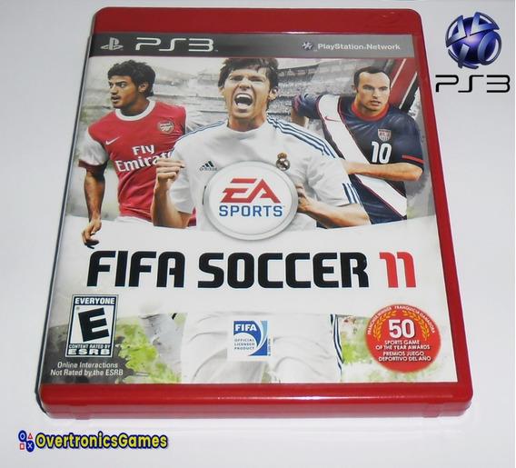 Ps3 Jogo Fifa Soccer 11 Mídia Física Playstation 3
