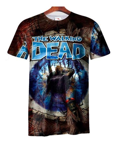 Remera Sublimada The Walking Dead Ranwey Cs093