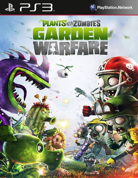 Plants Vs Zombies Garden Warfare - Psn Ps3 Play 3