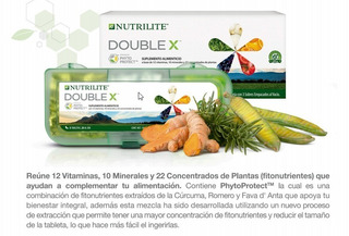 Multivitaminico Double X De Nutrilite 100% Orgánico