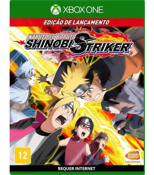 Naruto To Boruto Shinobi Striker Xbox One Midia Fisica Novo