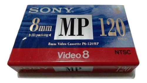 Cassette De Video 8mm P/ Filmadora Sony Minolta Canon Leer !