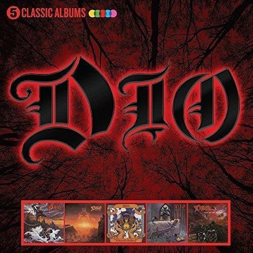 Dio 5 Album Classics Box Set Cd Importado Lacrado Metal Novo