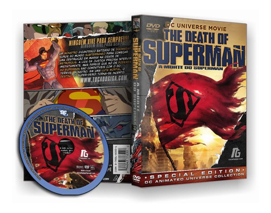 Superman - A Morte Do Superman 2018 - Dublado - Dvd