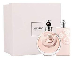 Set Valentina De Valentino Perfume + Crema Original Dama
