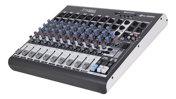 Mesa De Som Starmix 10 Canais Ll Audio Xms1002r