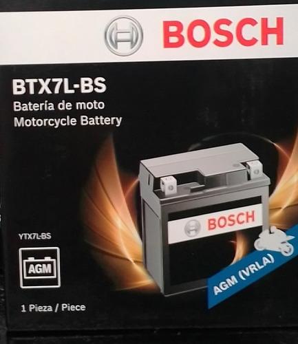 Batería Bosch Moto : Btx7l-bs