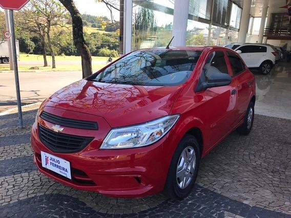Chevrolet Onix 1.0 Ls Flex Completo Vermelho 2016