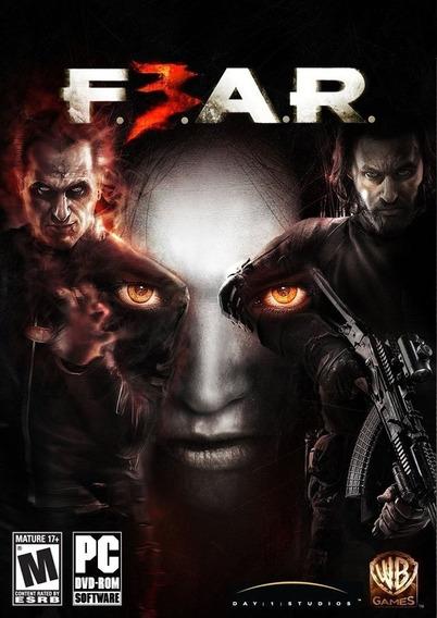 Fear 3 + Bônus - Pc - Original Lacrado Português