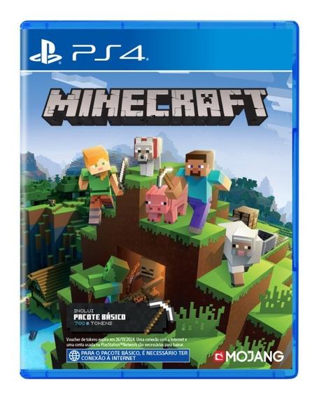 Minecraft - Mídia - Física - Ps4 - Novo