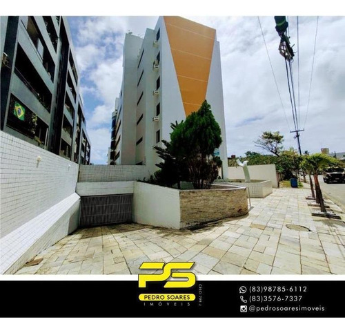 Apartamento Com 3 Dormitórios À Venda, 90 M² Por R$ 439.000,00 - Bessa - João Pessoa/pb - Ap4326