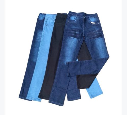 Imagem 1 de 4 de Kit 4 Calças Calça Jeans  Diversos Modelos