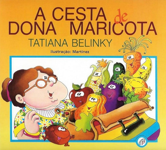 Livro - Cesta De Dona Maricota - Tatiana Belinky