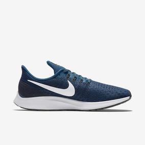Tênis De Corrida Nike Air Zoom Pegasus 35 Azul Original