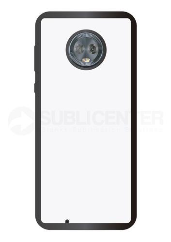 Imagen 1 de 1 de Funda Carcasa Case Sublimación Motorola G6 Tpu