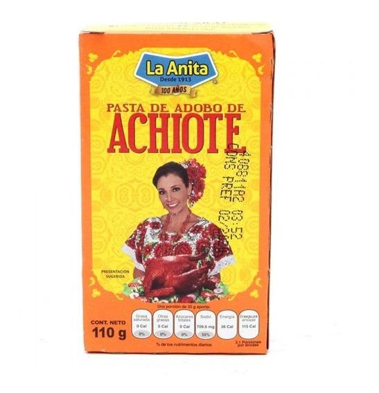 Pasta De Adobo Achiote La Anita 110 Gr