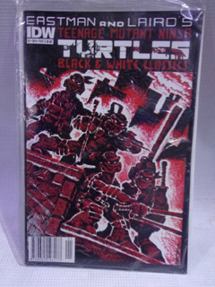 Tortugas Ninja Tmnt Black Y White Vol.1 Bruguera México 2014