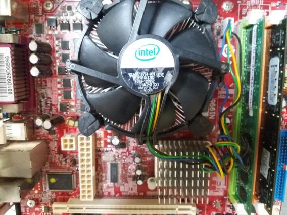 Kit Placa Mae 775 Dual Core 3gb Ram