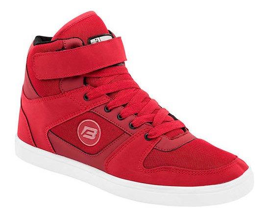 Buckler Sneaker Deportivo Sint Niño Rojo Bota J74119 Udt