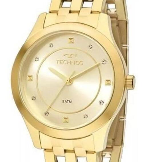 Relógio Feminino Technos Analógico Dourado 2036mfb/4x