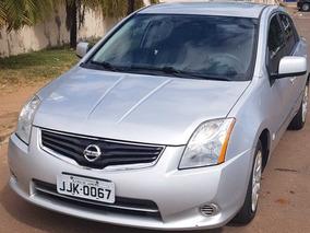 Nissan Sentra 2.0 Flex Automatico Com Gnv Prata Segundo Dono