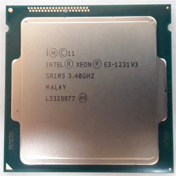 Intel Xeon E3-1231 V3 Quad Core 3.40ghz/8mb/5 Gt/s/lga1150