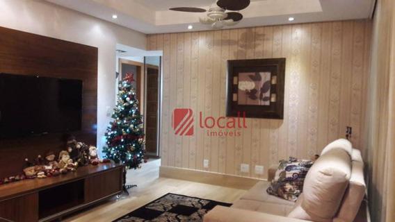 Apartamento Com 3 Dormitórios À Venda, 104 M² Por R$ 720.000,00 - Jardim Tarraf Ii - São José Do Rio Preto/sp - Ap0769