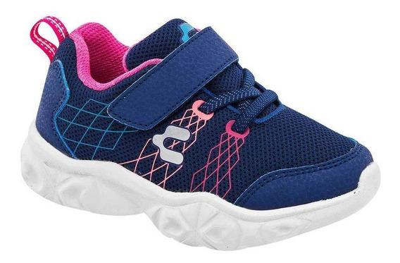 Tenis Charly Niña 1069481 Color Marino Talla 18-21 -shoes