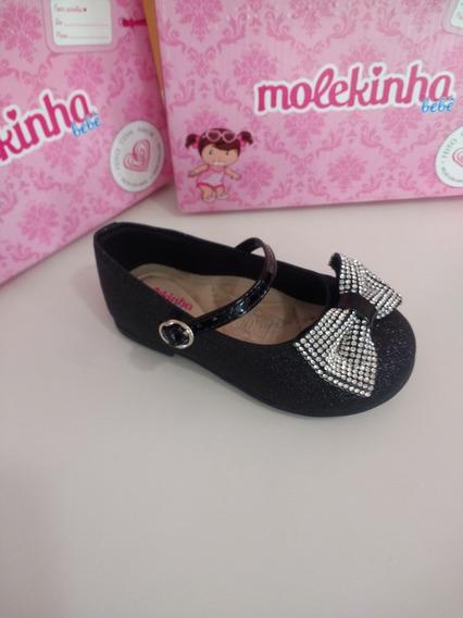 Sapatilha Boneca Infantil Molekinha Bebe 2106171