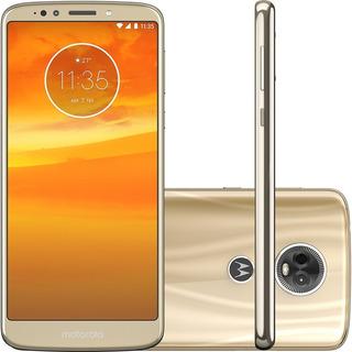 Celular Motorola Moto E5 Plus 16gb Dourado Vitrine