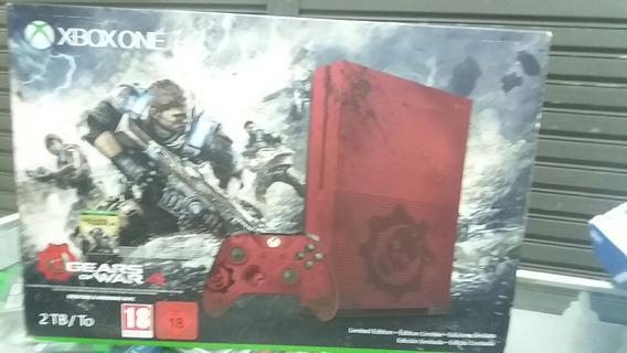 Xbox One S Edição Limitada Gears Of War 4