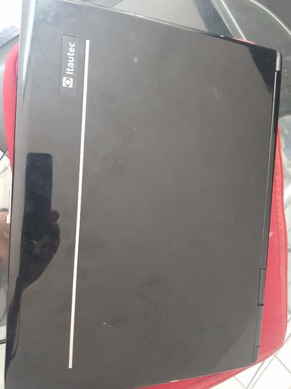 Notebook Itautec W7655 Completo - Intermitente # Leia